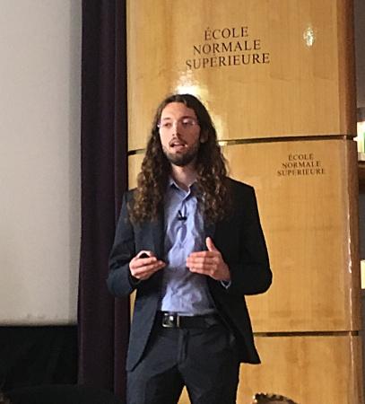 Adrien Jeantet - Présentation à l'École Normale Supérieure